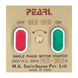 Pearl Motor Starter & D.P. Switches (6)