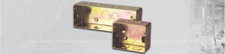 Concealed Boxes (Metal)